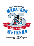 Walt Disney World Marathon Weekend - 25th Anniversary