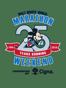 Walt Disney World Marathon Weekend - 25th Anniversary