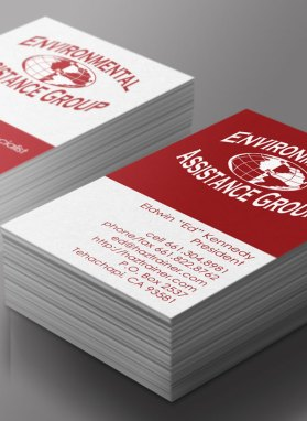 EAG – business card design
