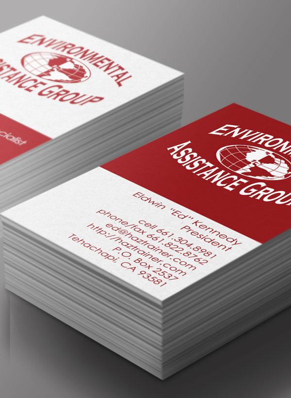 EAG – business card design