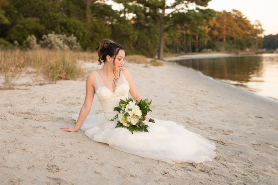 Adventure Bride On A Beach