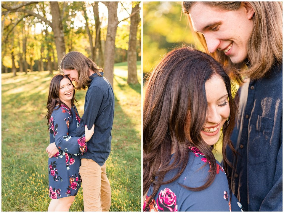 Andy & Sam's Peace Valley Park Fall Engagement Session Photos_0006.jpg