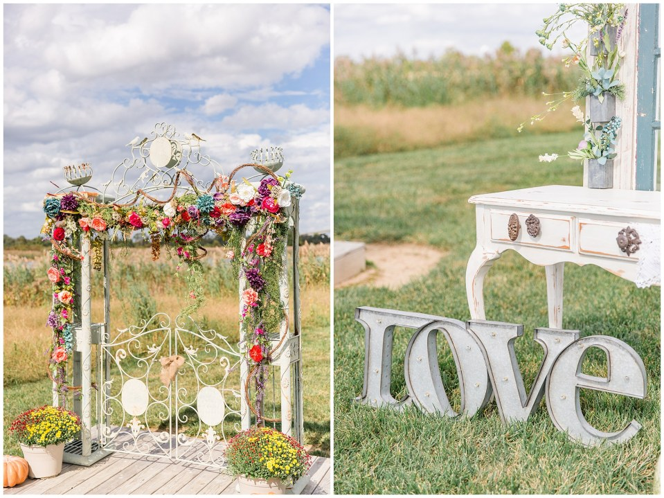Cody & Hali's Boho Chic Barn Wedding at Thousand Acre Farms in Delaware Photos_0024.jpg