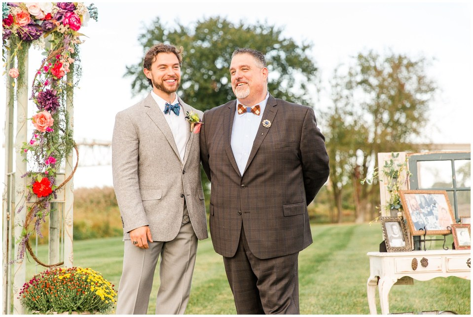 Cody & Hali's Boho Chic Barn Wedding at Thousand Acre Farms in Delaware Photos_0031.jpg