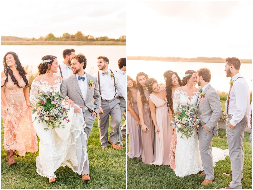 Cody & Hali's Boho Chic Barn Wedding at Thousand Acre Farms in Delaware Photos_0059.jpg