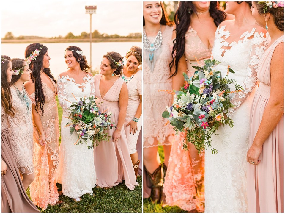 Cody & Hali's Boho Chic Barn Wedding at Thousand Acre Farms in Delaware Photos_0073.jpg