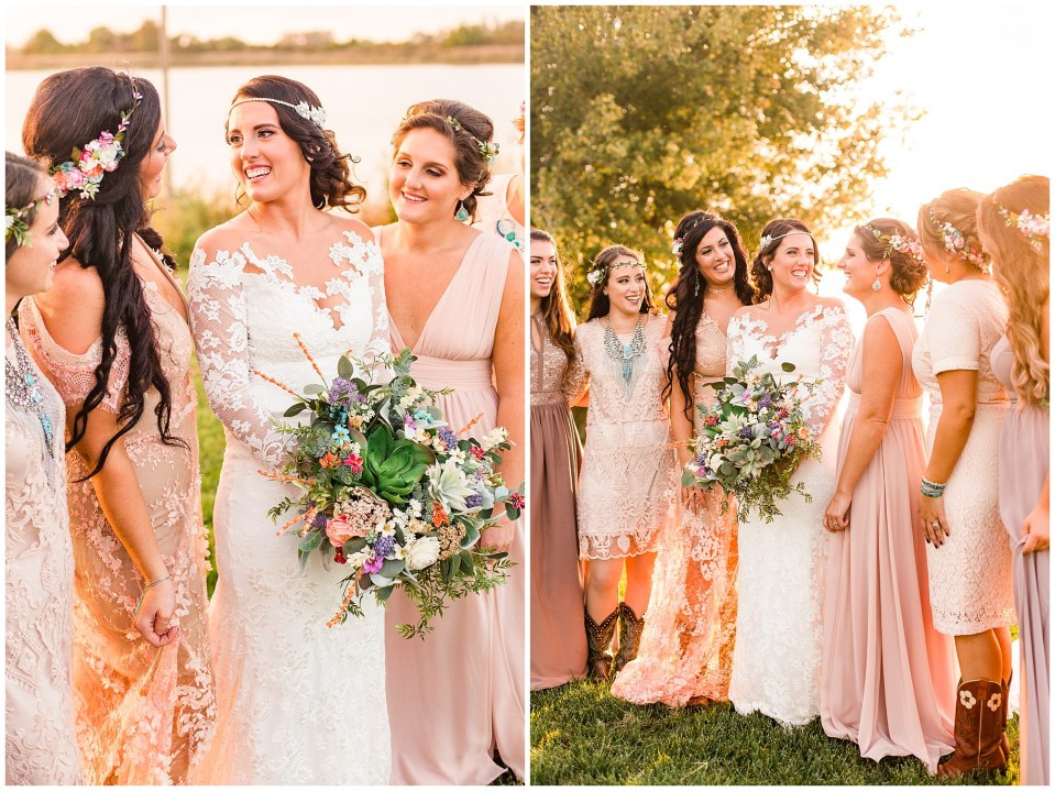 Cody & Hali's Boho Chic Barn Wedding at Thousand Acre Farms in Delaware Photos_0075.jpg