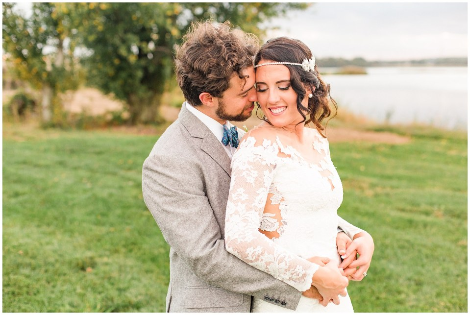 Cody & Hali's Boho Chic Barn Wedding at Thousand Acre Farms in Delaware Photos_0090.jpg