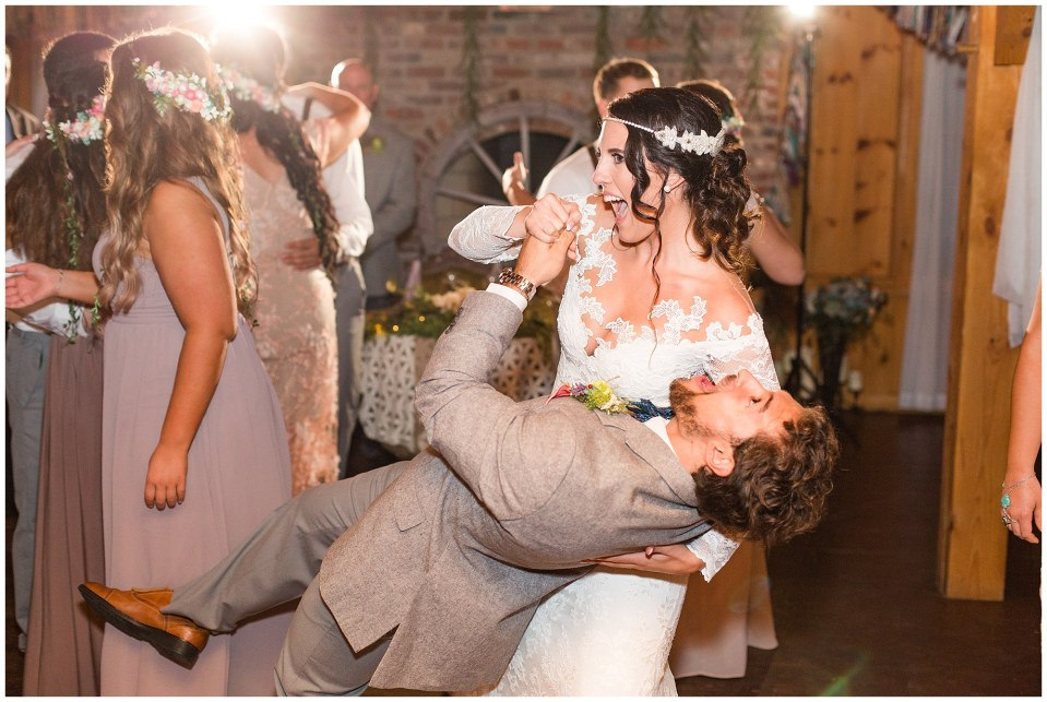 Cody & Hali's Boho Chic Barn Wedding at Thousand Acre Farms in Delaware Photos_0142.jpg