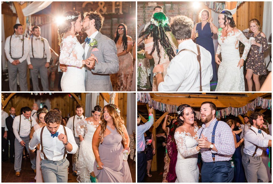 Cody & Hali's Boho Chic Barn Wedding at Thousand Acre Farms in Delaware Photos_0166.jpg