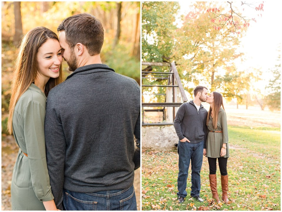 Mike & Jenny's Sunset Fall Engagement at Valley Forge Park and Philadner Chase Knox Estate Photos_0015.jpg