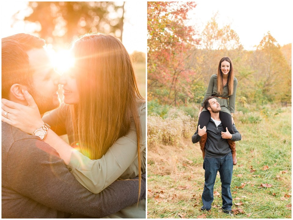 Mike & Jenny's Sunset Fall Engagement at Valley Forge Park and Philadner Chase Knox Estate Photos_0019.jpg