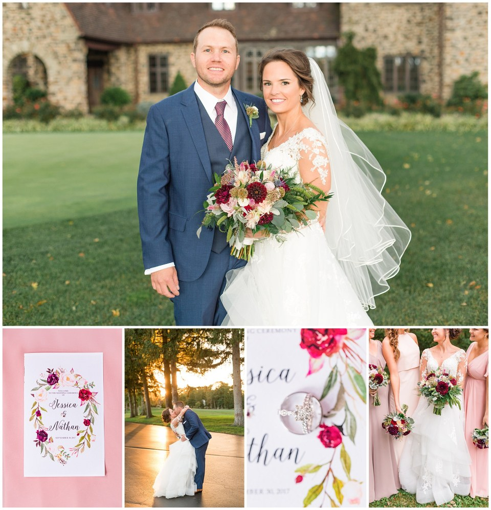Nate & Jessie's Navy, Blush and Maroon Wedding at Aronimink Golf Club in Wayne, PA Photos_0144.jpg
