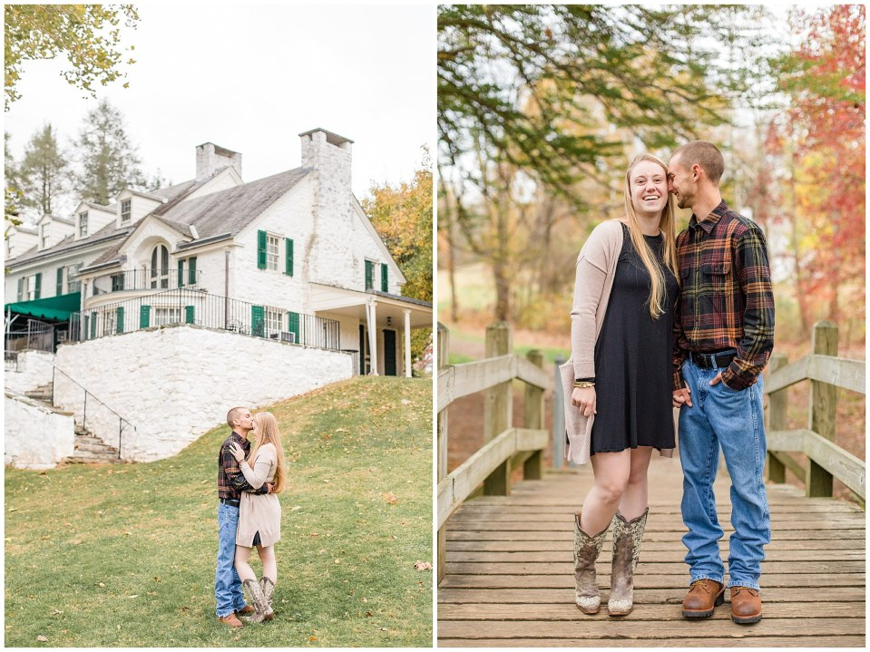 Sheldon & Stephanie's Country Fall Engagement Session at Valley Forge Park Photos_0003.jpg