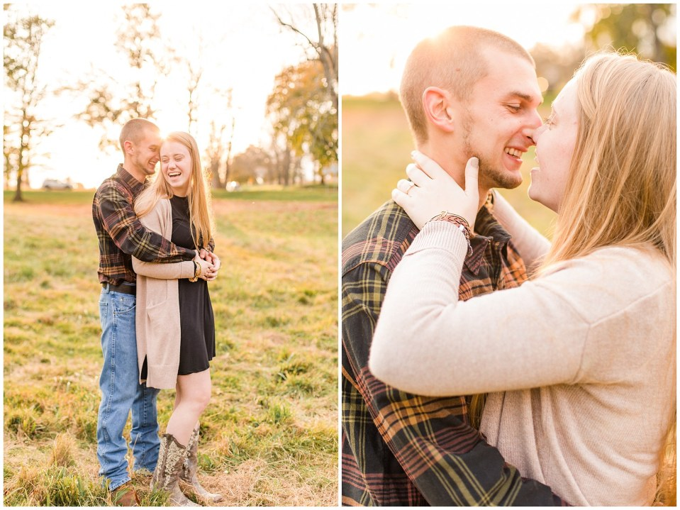 Sheldon & Stephanie's Country Fall Engagement Session at Valley Forge Park Photos_0015.jpg