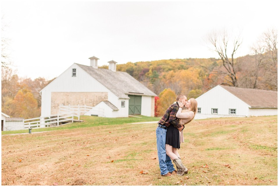 Sheldon & Stephanie's Country Fall Engagement Session at Valley Forge Park Photos_0027.jpg