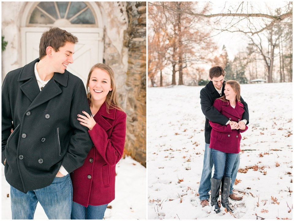 Jackson & Emily's Snowy Engagement Session in Valley Forge Park Photos_0009.jpg