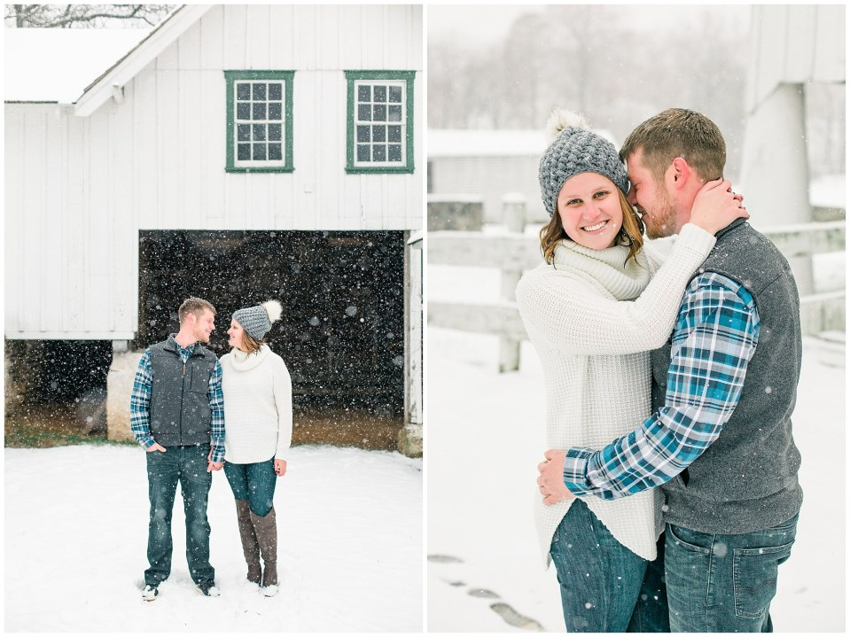 Joseph & Sara's Snow Storm Engagement at Valley Forge National Park in Wayne, PA Photos_0005.jpg