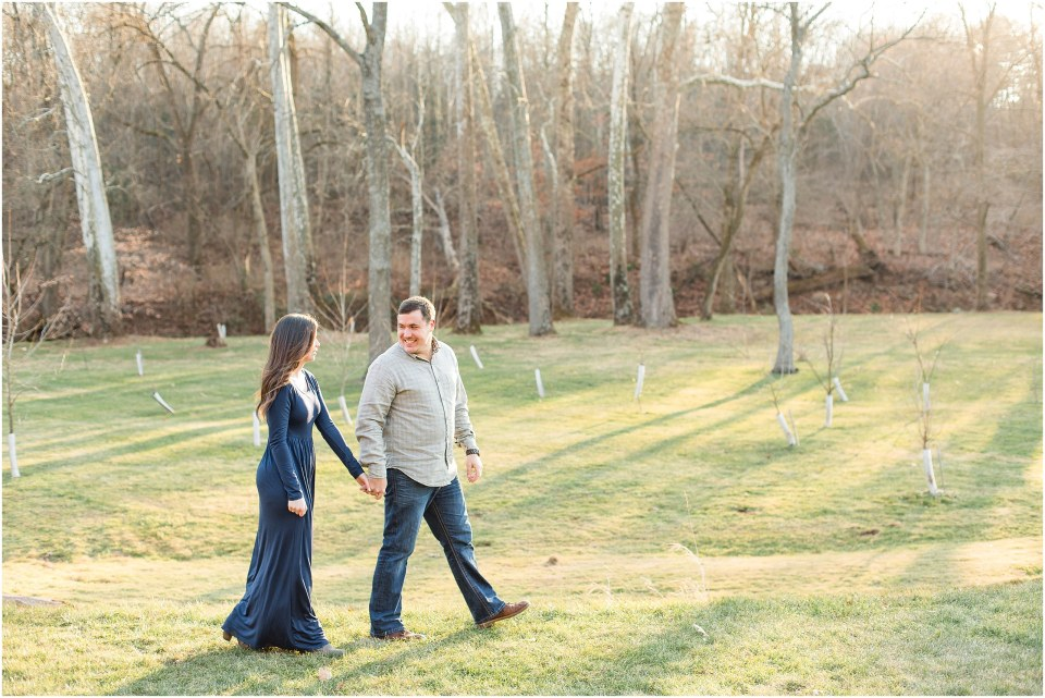 Richie & Kati's Winter Engagement at The Barn On Bridge in Collegeville, PA Photos_0012.jpg