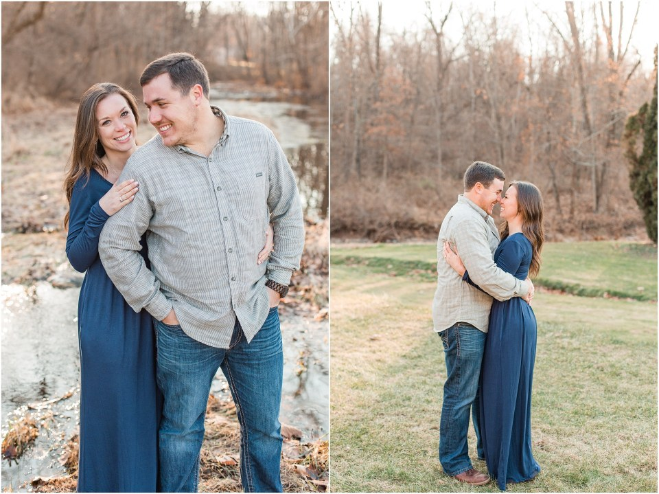Richie & Kati's Winter Engagement at The Barn On Bridge in Collegeville, PA Photos_0013.jpg