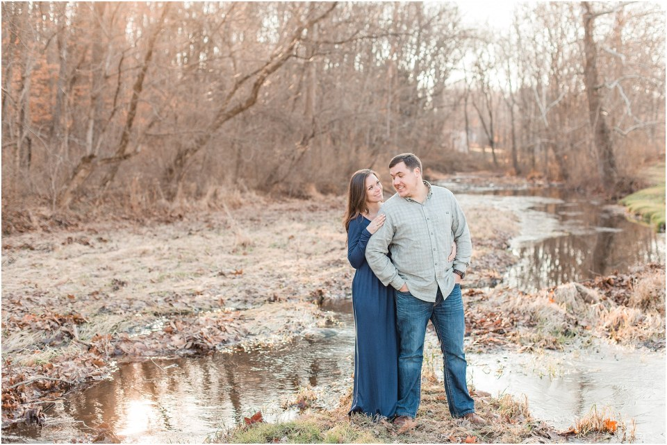 Richie & Kati's Winter Engagement at The Barn On Bridge in Collegeville, PA Photos_0014.jpg