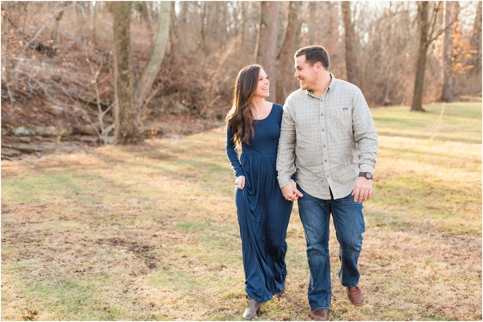 Richie & Kati's Winter Engagement at The Barn On Bridge in Collegeville, PA Photos_0015.jpg