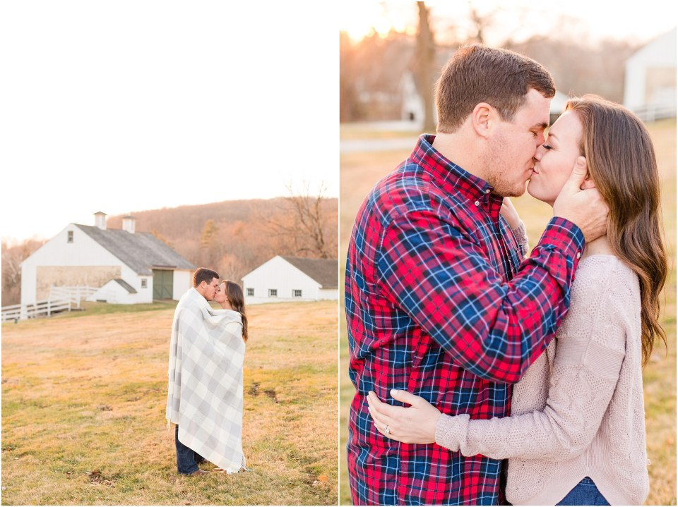 Richie & Kati's Winter Engagement at The Barn On Bridge in Collegeville, PA Photos_0035.jpg
