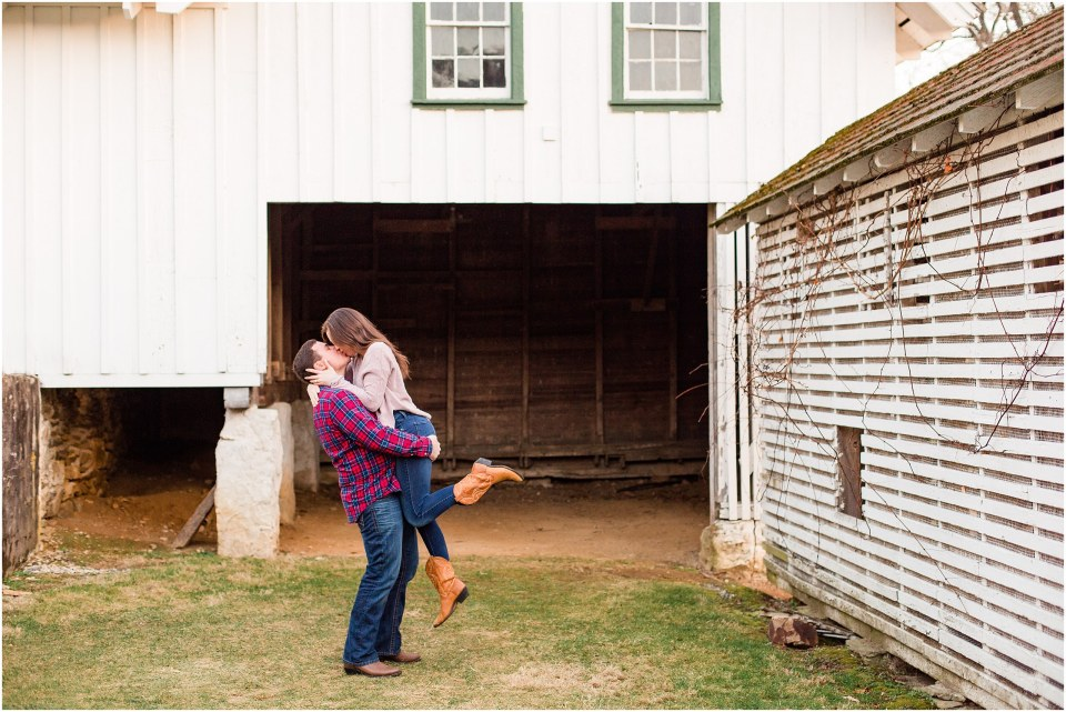 Richie & Kati's Winter Engagement at The Barn On Bridge in Collegeville, PA Photos_0047.jpg