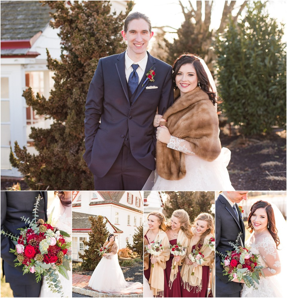 Andy & Sam's Navy & Maroon Winter Wedding at Normandy Farm Hotel & Conference Center in Blue Bell, PA Photos_0091.jpg