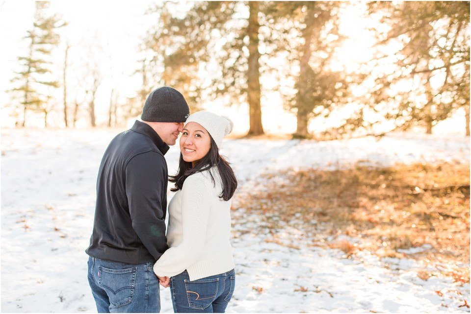 Brad & Mary's Snowy Winter Engagement at Valley Forge Park in Wayne, PA_0010.jpg