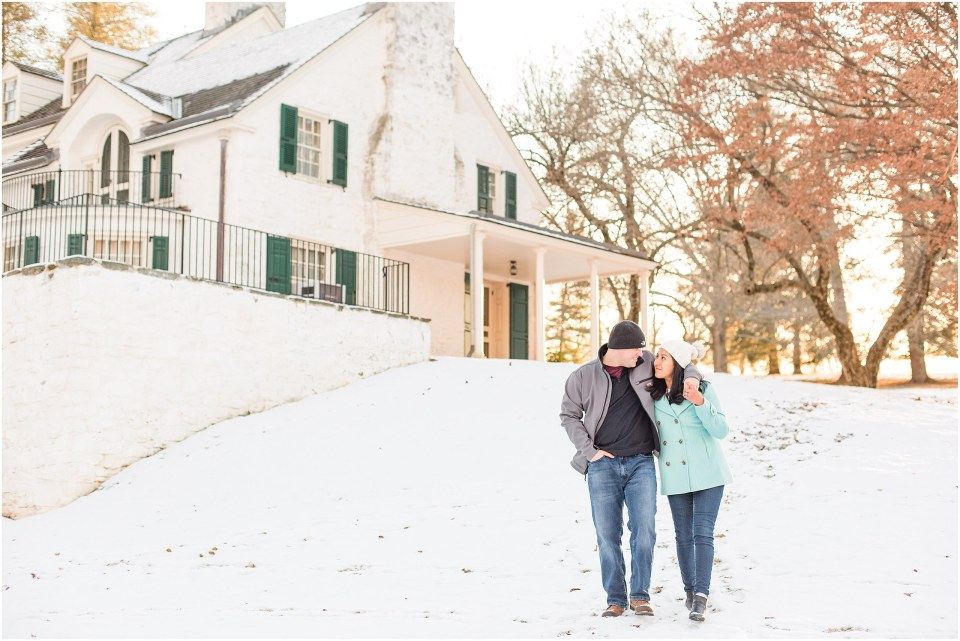 Brad & Mary's Snowy Winter Engagement at Valley Forge Park in Wayne, PA_0020.jpg