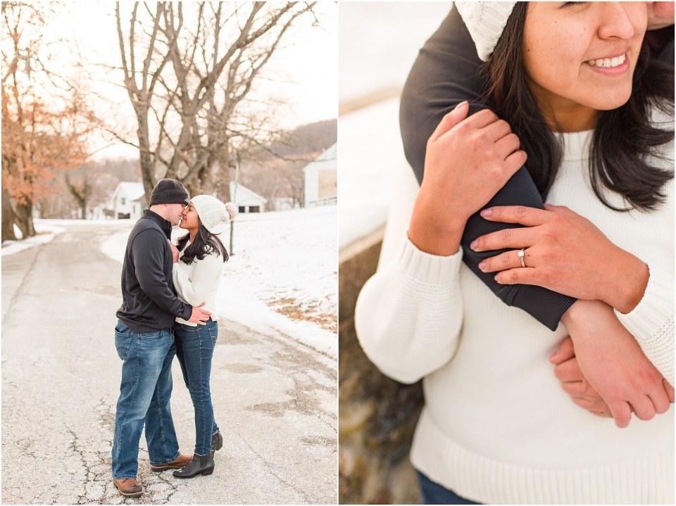 Brad & Mary's Snowy Winter Engagement at Valley Forge Park in Wayne, PA_0021.jpg