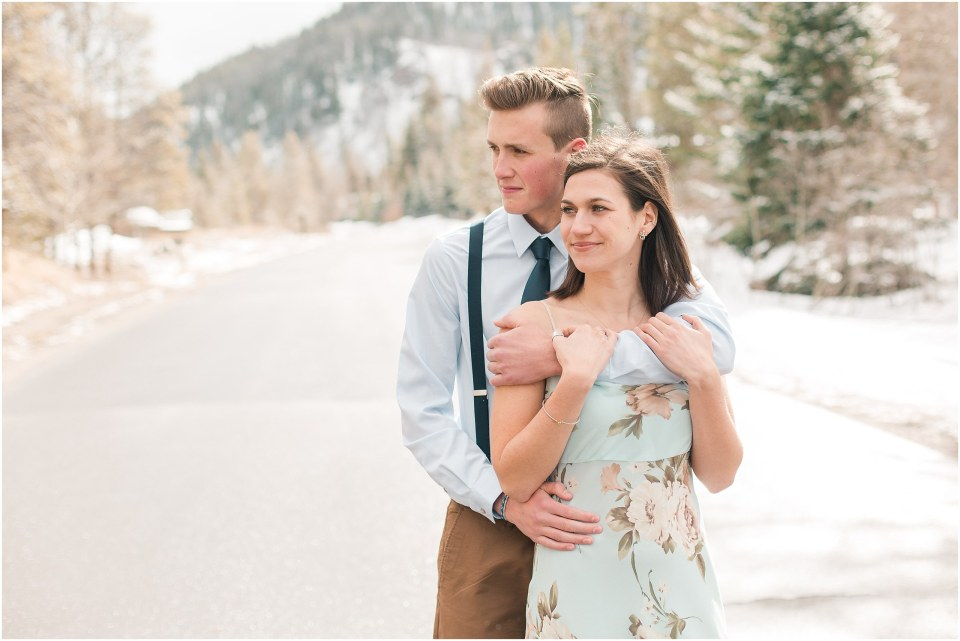 Matt & Chrissy's Springtime Couples Session in Keystone, Colorado_0011.jpg