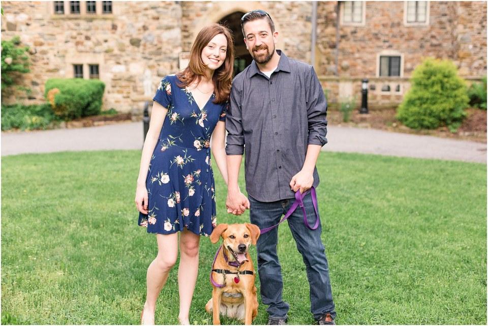 Jason & Sarah's Engagement Session at Ridley Creek State Park Photos,