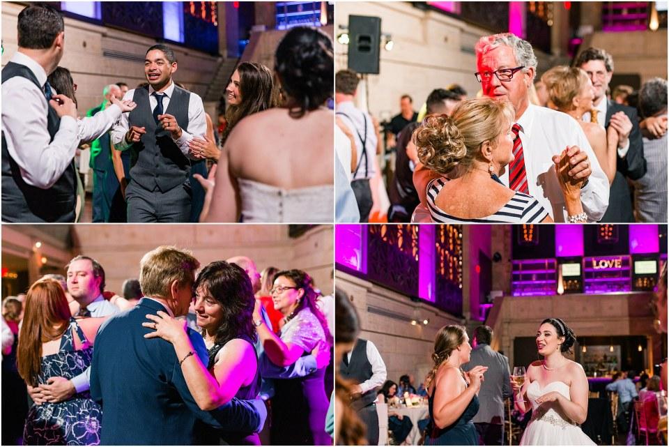 Darren & Elizabeth Grey & Navy Wedding at Union Trust Ballroom by Finley Catering in Philadelphia,PA Photos,