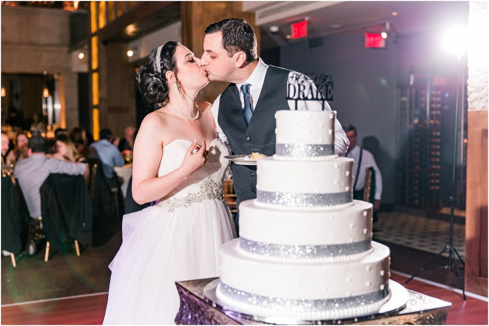 Darren & Elizabeth Grey & Navy Wedding at Union Trust Ballroom by Finley Catering in Philadelphia,PA Photos,
