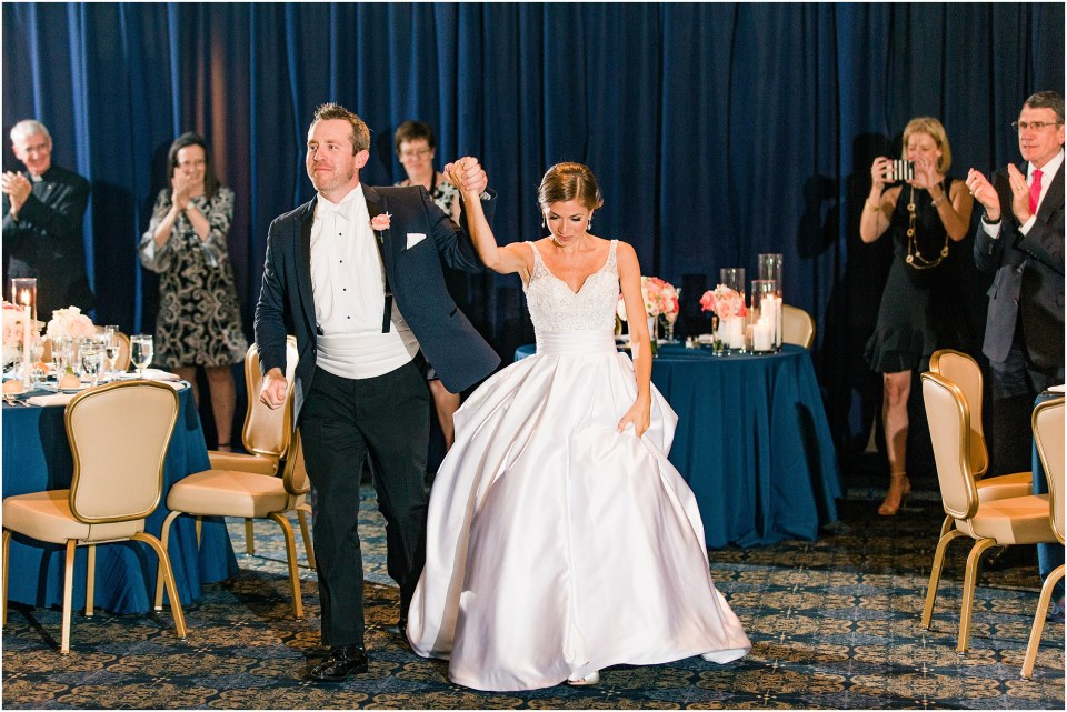 PA Photos,Patrick & Emily's Navy & Blush Black Tie Wedding at Bluestone Country Club in Blue Bell,