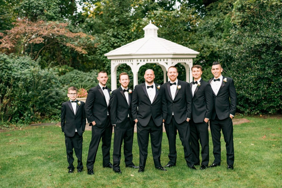 Brad & Mary's Black Tie Wedding at The Shadowbrook at Shrewsbury in New Jersey