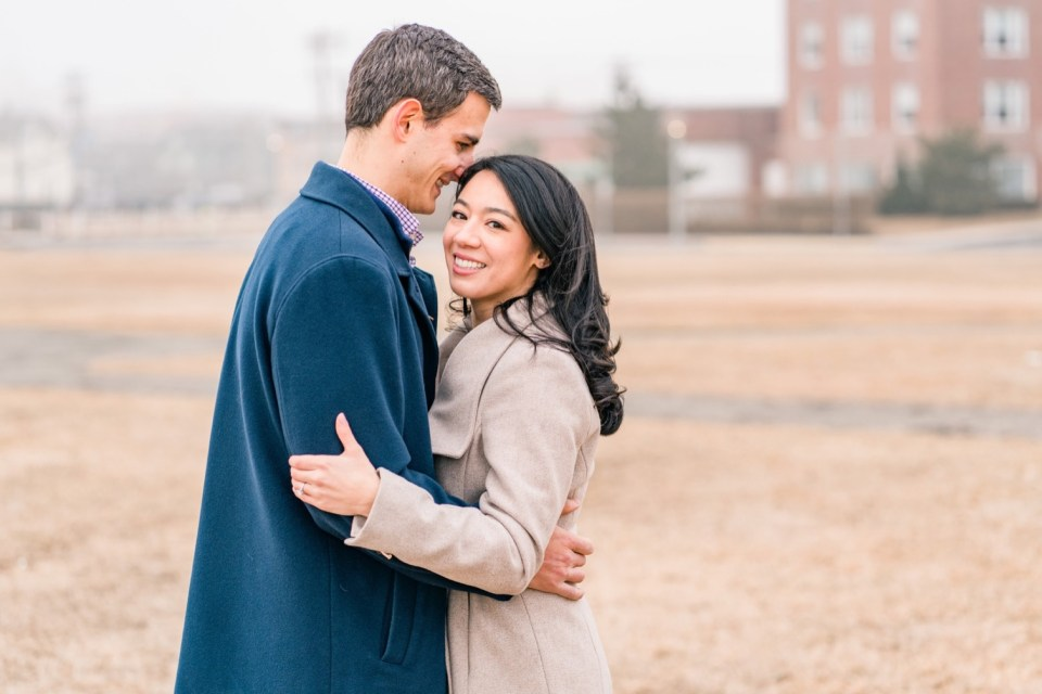 Charlie & Janine Foggy Asbury Park, New Jersey Engagement Photos