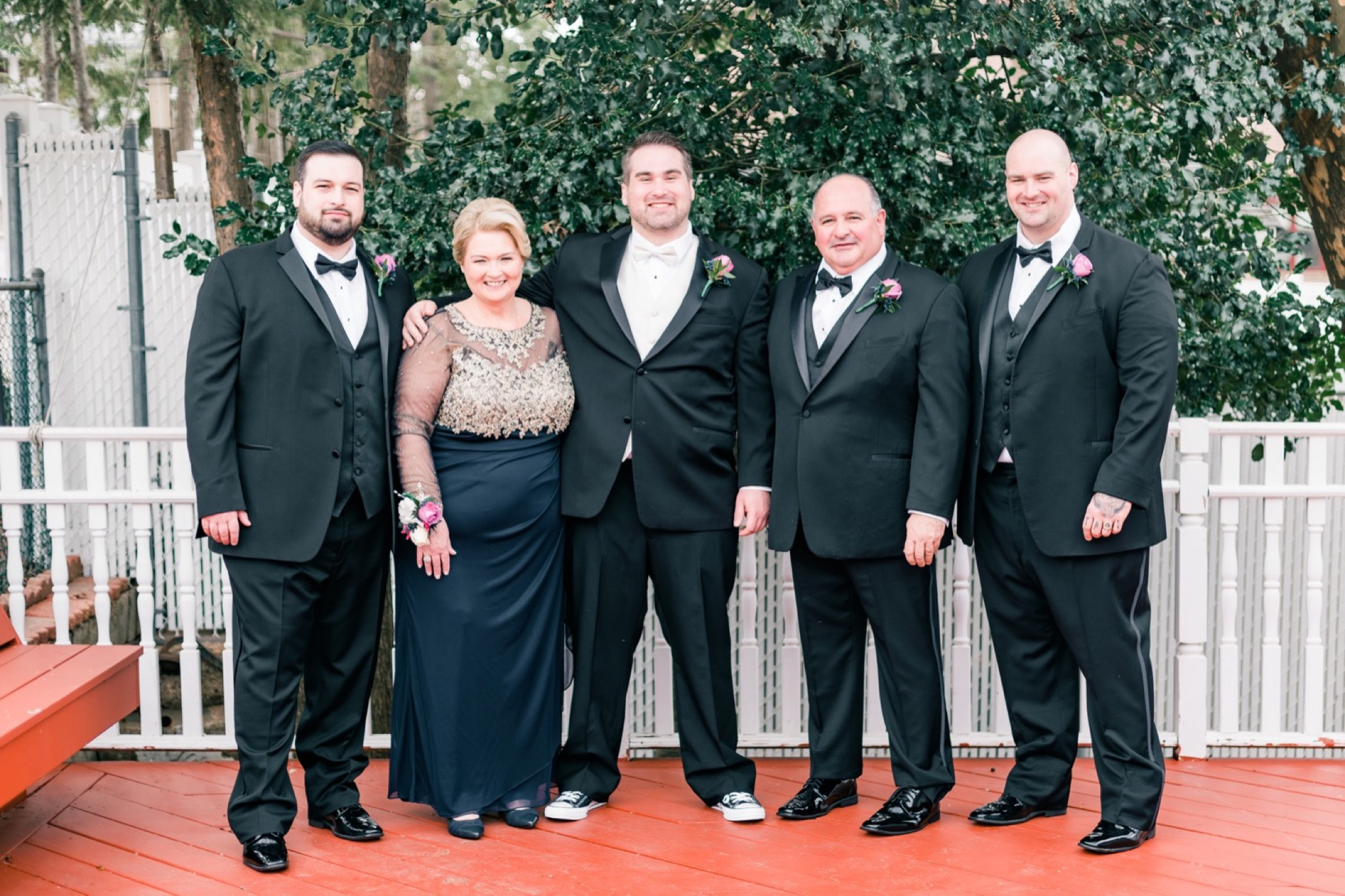 Family Staten Island Wedding