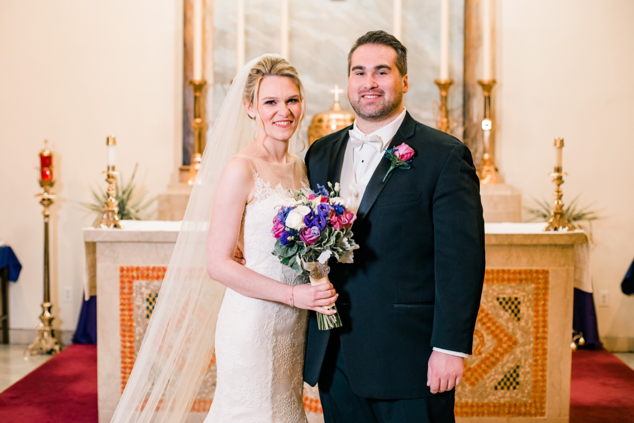 Church Portrait Staten Island Wedding