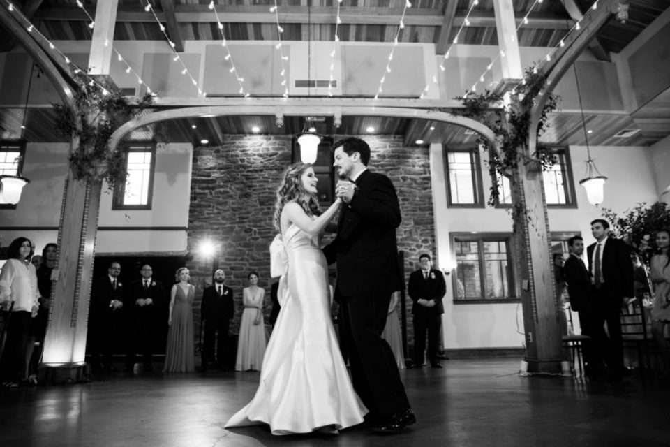 First Dance Black and White - Knowlton Mansion