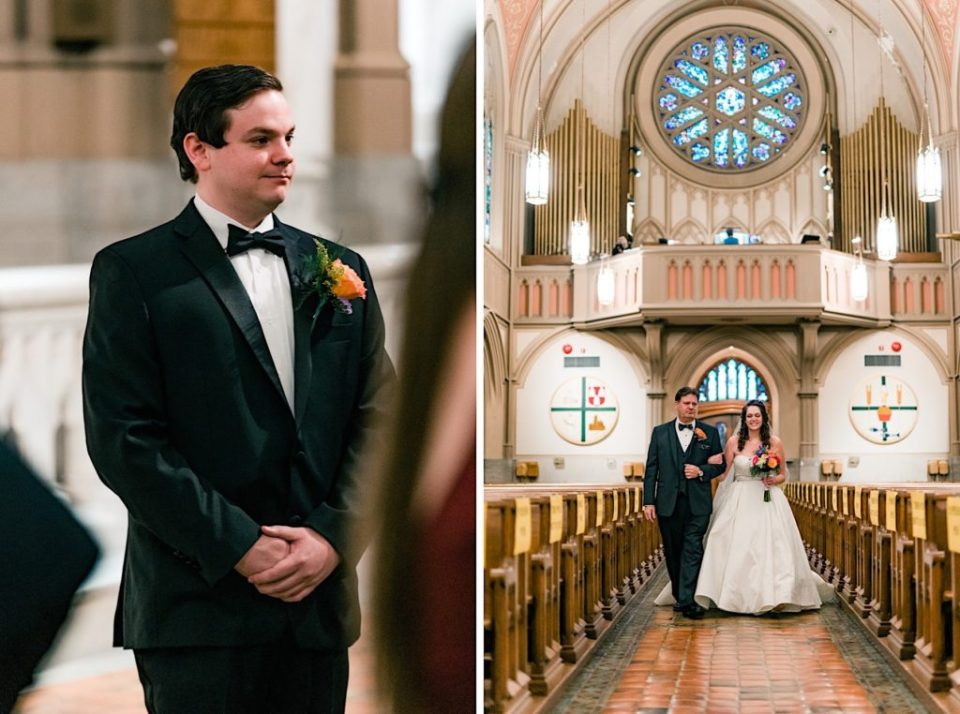 St. Matthews Church Wedding Photos