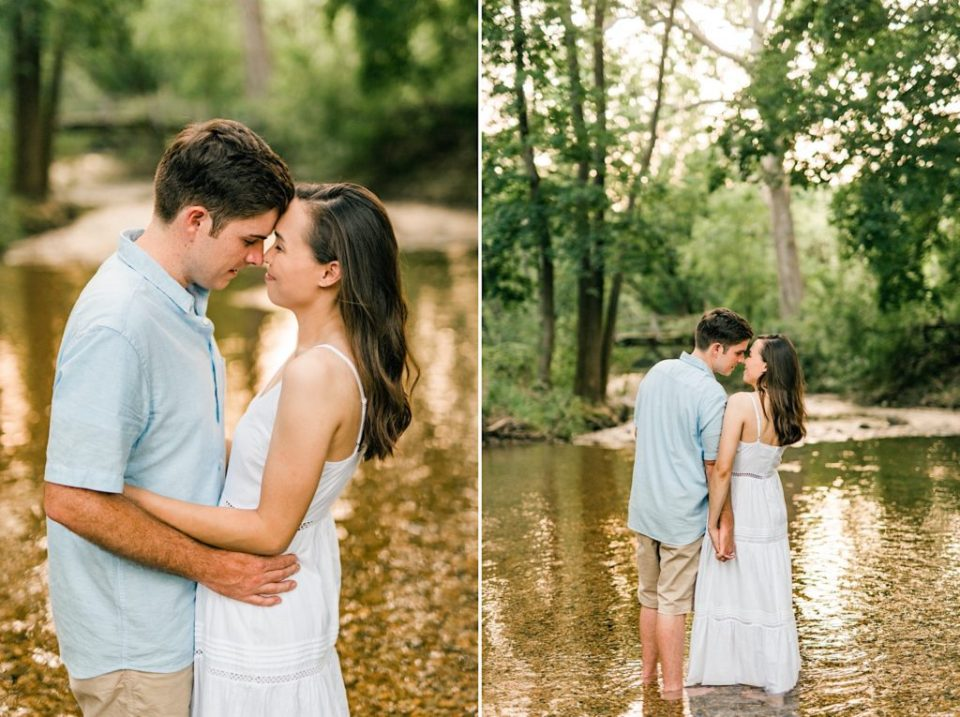 Valley Forge Creek Engagement Photos