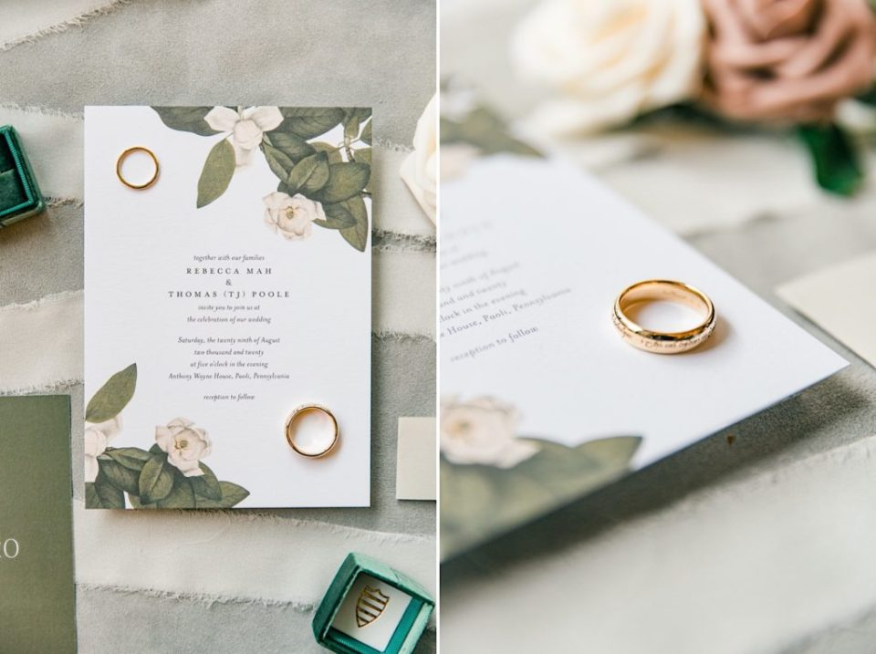 Wedding Invitations at The Desmond Hotel Photos