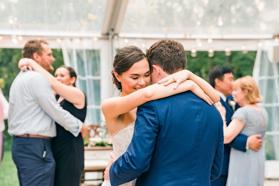 First Dance at Anthony Wayne House Photos