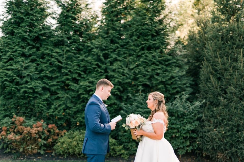 Vows at First Look at Flourtown Country Club