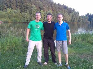 Robert, Roman and I.