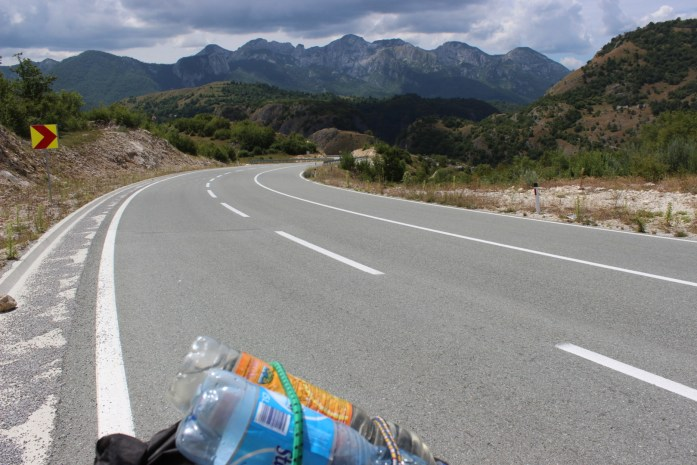 A bike touring adventure on the steep mountain roads of Montenegro.