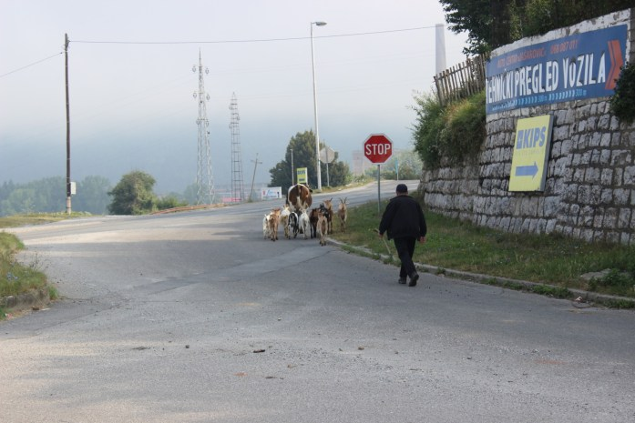 Bike touring adventure in Montenegro seeing a different way of life.
